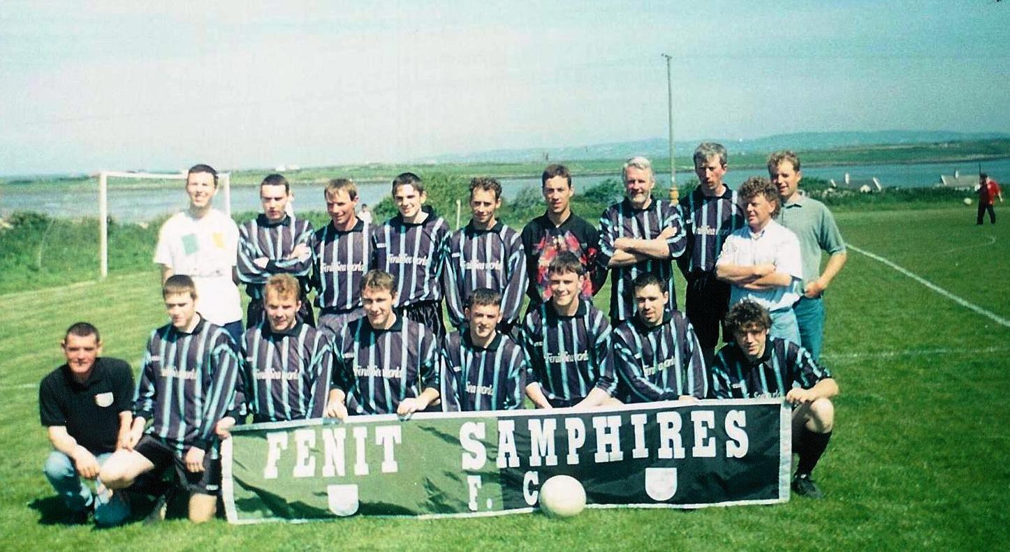 samphires senior team